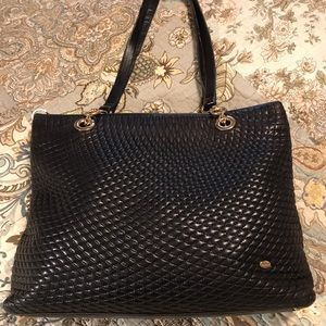 Bally Leather quilted bag